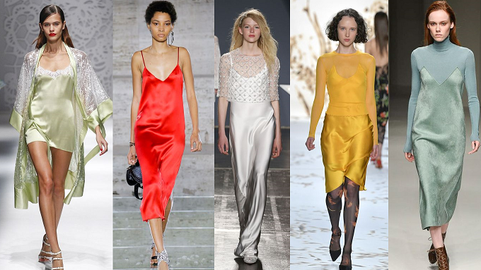 You Ve Probably Have Noticed That The Slip Dress Trend Has Been Around For A
